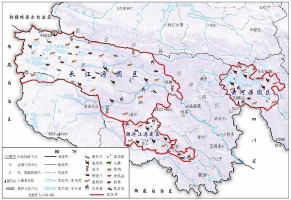 新疆风景分布图